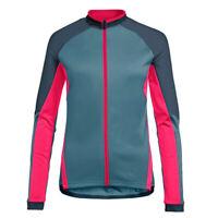 Women Cycling Jersey Long Jacket Cycle Road Ride Bike Top MTB Shirt Bib Clothing