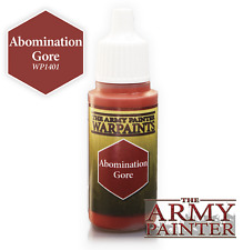 The Army Painter WP1401 Acrylic Warpaint Abomination Gore 18ml Bottle - 2nd Post