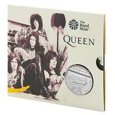 2020 Music Legends Queen £5 BU Coin in Royal Mint Sealed Pack
