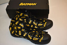 Batman Converse All Star Hi Top Black Sneakers Size 11 Mens Worn Once Maybe