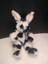 RARE VINTAGE 1994 Mary Meyer 11 inch Spotted Bunny Rabbit Plush Toy