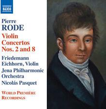 Rode / Eichhorn / Je - Violin Concertos Nos. 2 & 8 - Introduction [New CD]