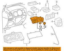 TOYOTA OEM Corolla-Climate Control Unit Temperature Fan Heater A/C 5590002191