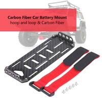 Carbon Fiber Battery Mounting Plate Tray for 1/10 Crawler RC Car Axial SCX10