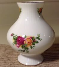 Royal Albert Old Country Roses Small Vase ~ Made In England ~ New