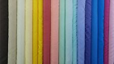 Voile Plain Fabric Sold per Metre Curtain Net Craft Wedding Material 150cm wide