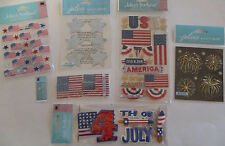 NRN Patriotic Military Sayings stickers scrapbook craft paper craft