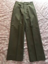 Original WWII US Army Wool Pants Trousers ( ID'd ) Captain Briggs A+ CONDITION