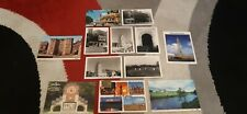 More details for old postcard collection -  locations x 12