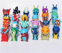 24Pcs/Set Slugterra Anime PVC Figure Toys Doll Collection lovely