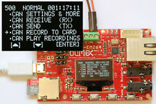 CAN Bus Data Logger Viewer + Sniffer use with Arduino Raspberry CANalyst CANOpen