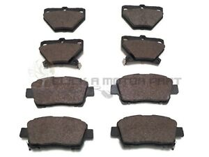 FRONT AND REAR BRAKE DISC PADS FULL SET NEW FOR TOYOTA CELICA 1.8 VVTi 140 99-06