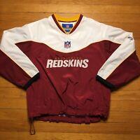 NFL Washington Redskins Reebok Windbreaker Jacket Coat Youth Medium (10/12)