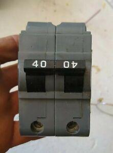 UBIF 240N 2  Pole  40A 240V Circuit Breaker  Thick Series UBIFN Circuit