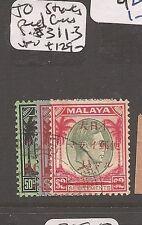 Malaya Jap Oc Straits Red Cross SG J311-3 VFU (1aza)