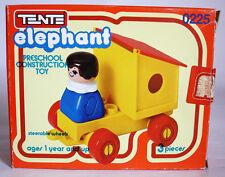 RARE VINTAGE 80'S TENTE ELEPHANT 0225 VAGON CONSTRUCTION TOY EXIN SPAIN NEW !