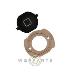 Home Button with Rubber Gasket for Apple iPhone 4S CDMA Black Replacement Part