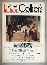 Collier's Magazine - May 29, 1909 -- Maxfield Parrish cover