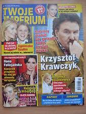 TWOJE IMPERIUM 10/2015 K.KRAWCZYK,Hugh Grant,Joanna Krupa,Katy Perry,Lady Gaga