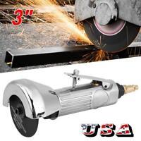 """USA 3"""" Cut Off Tool Pneumatic Air High Speed Power Metal Cutting Cutter 1/4"""" NPT"""