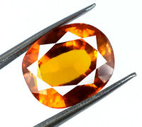 Natural Ceylon Orange Sapphire 10-12 Ct Loose Gemstone Oval Cut AGSL Certified