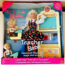 BARBIE COLLECTION ♥ 1995 MAÎTRESSE ÉCOLE TEACHER HEART DOUCOEUR  School ♥ NEUF