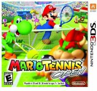 Mario Tennis Open (Nintendo 3DS, 2012) Brand New/Fast Free shipping