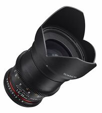 Rokinon Cine DS 35mm T1.5 AS IF UMC Full Frame Cine Wide Angle Lens for Canon EF