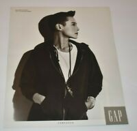 GAP Tina Chow Composed Jewelry Designer 80s Fashion 1989 Vintage Print Ad