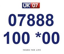 07888 100 *00 Numbers - Gold Easy Memorable Business Platinum VIP Mobile Numbers