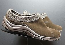 Women's Vionic Brown Nubuck Woven Collar Mule Sz. 37/6 MINTY!