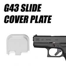 Replacement Slide Cover Plate for Glock G43 - SILVER