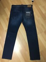NWD Mens Diesel Belther U/SOFT STRETCH Denim 0688A Blue Slim W31 L32 H6 RRP£160