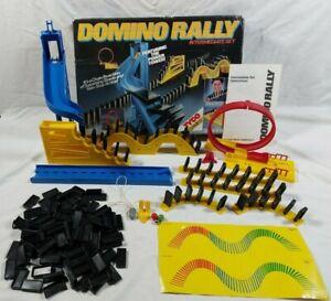 Vintage 1989 Pressman Domino Rally Intermediate Power Tower Set Boxed