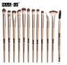 MAANGE Pro 12 pcs Makeup Brushes Set Eye Shadow Blending Eyeliner Eyelash