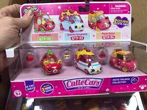 Shopkins Cutie Cars 3 Pack Moto Italiano
