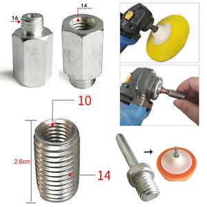 M10 M14 M16 Grinder Polisher Interface Converter Drill Bit Screw Thread Adapter