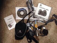 Konica Minolta DiMAGE Z6 6.0MP Digital Camera Silver w/ All Orig Acc