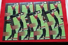 2001 UPPER DECK TOUR TIME TIGER WOODS #176 11 CARD LOT