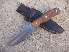 Swamp Rat Knife Works INFIDU Custom Molded Leather Knife Sheath BROWN - USA