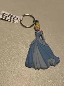 Disney Cinderella Princess Soft PVC Keychain Keyring