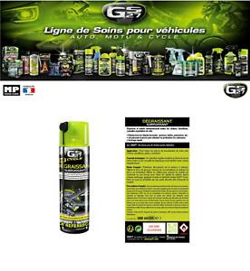 Le Dégraissant Surpuissant GS27 ® Cycle Vélo dégraisse et nettoie  (500 ml)