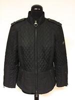 Barbour International Motorcycle Jacke in schwarz Gr. 42 DE wie Neu