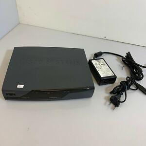 Cisco 877 Series 800 Integrated Services Router con Alimentatore
