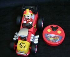 Disney Jr Mickey Mouse Roadster Racer RC Vehicle, Remote Control Racing Kids Car