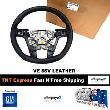 Steering Wheel Leather VE Commodore SSV Sports Wheel New Genuine Holden 92194401