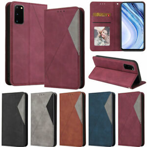 Splice Wallet Leather Flip Case Cover For Samsung Note 20 Ultra S20 Plus A51 A71