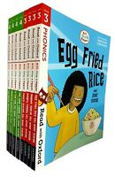 Read With Oxford Stage(3-4)Biff Chip and Kipper Collection 8 Books Set Egg Fried