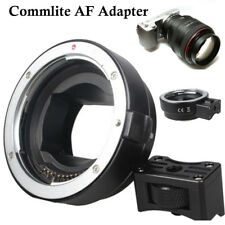 Commlite AF Adapter for Canon EOS EF EF-S lens to Sony NEX E-mount Camera DSLR