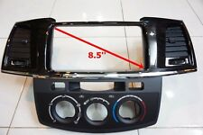 TOYOTA HILUX FORTUNER 2005-2014 BLACK WOOD CENTER CONSOLE DISPLAY 8.5''